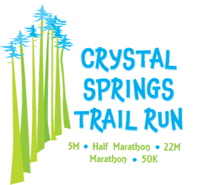 Crystal Springs Trail Run (Winter) logo on RaceRaves