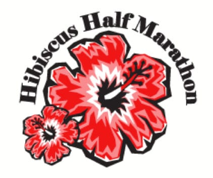 Hibiscus Half Marathon, 15K and 5 Miler logo on RaceRaves