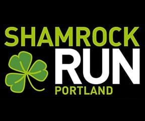 Shamrock Run Portland logo on RaceRaves