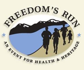 Freedom's Run logo on RaceRaves