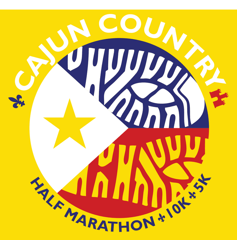 Cajun Country Run logo on RaceRaves