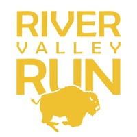 River Valley Run Half Marathon Trail Race logo on RaceRaves