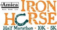 Iron Horse Half Marathon (CT) logo on RaceRaves