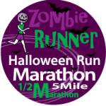 ZombieRunner Halloween Run logo on RaceRaves