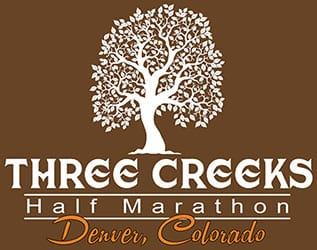 Three Creeks Half Marathon (CO) logo on RaceRaves