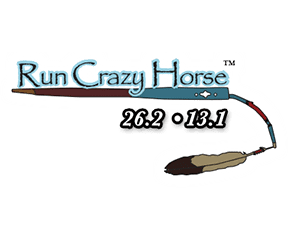 Run Crazy Horse logo on RaceRaves