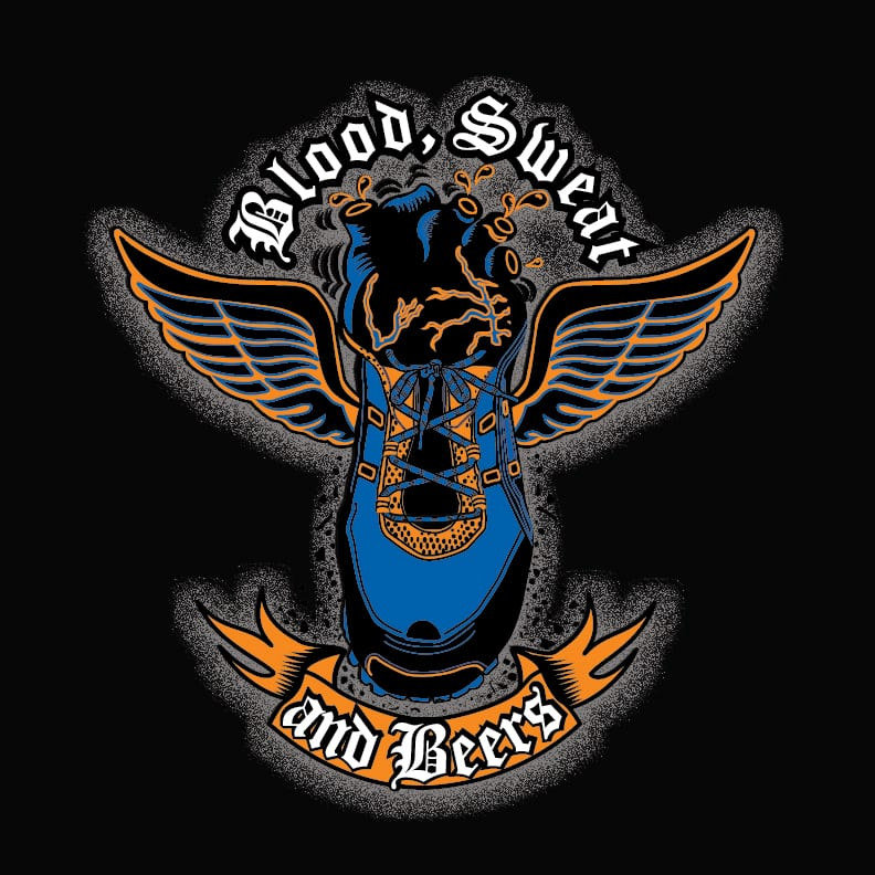 Blood, Sweat & Beers (CA) logo on RaceRaves