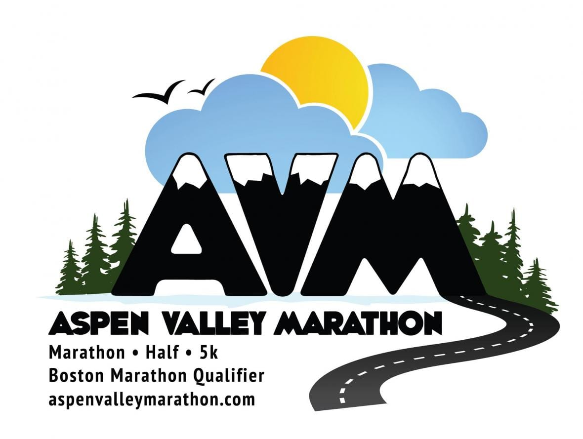Aspen Valley Marathon logo on RaceRaves