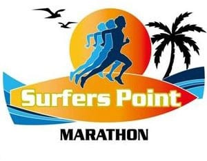 Surfers Point Marathon logo on RaceRaves