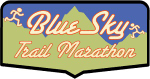 Blue Sky Trail Marathon logo on RaceRaves