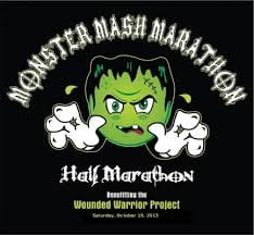Monster Mash Marathon & Half Marathon logo on RaceRaves
