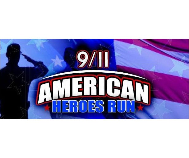 9/11 American Heroes Run logo on RaceRaves
