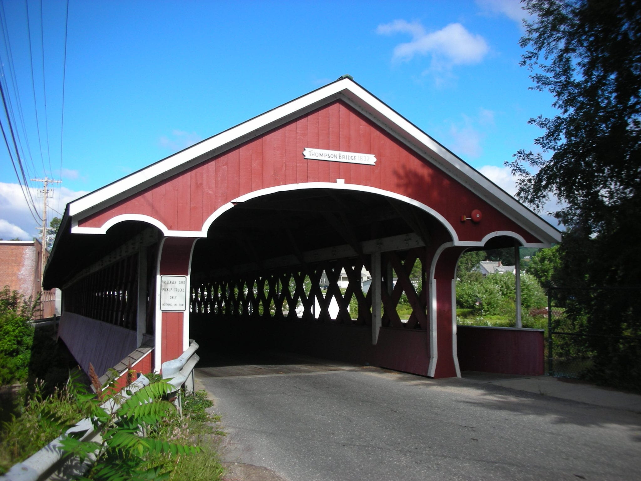 Swanzey Covered Bridges – Elijah's Race logo on RaceRaves
