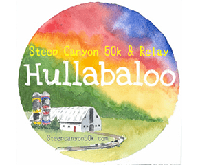 Hullabaloo 50K Ultramarathon & Relay (fka Steep Canyon 50K) logo on RaceRaves