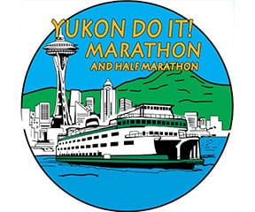 Yukon Do It! Marathon & Half Marathon logo on RaceRaves