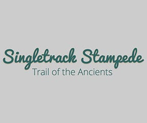 Singletrack Stampede – Trail of the Ancients logo on RaceRaves