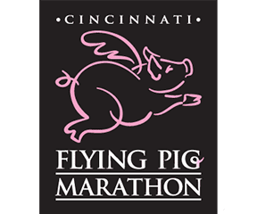 Cincinnati Flying Pig Marathon logo on RaceRaves