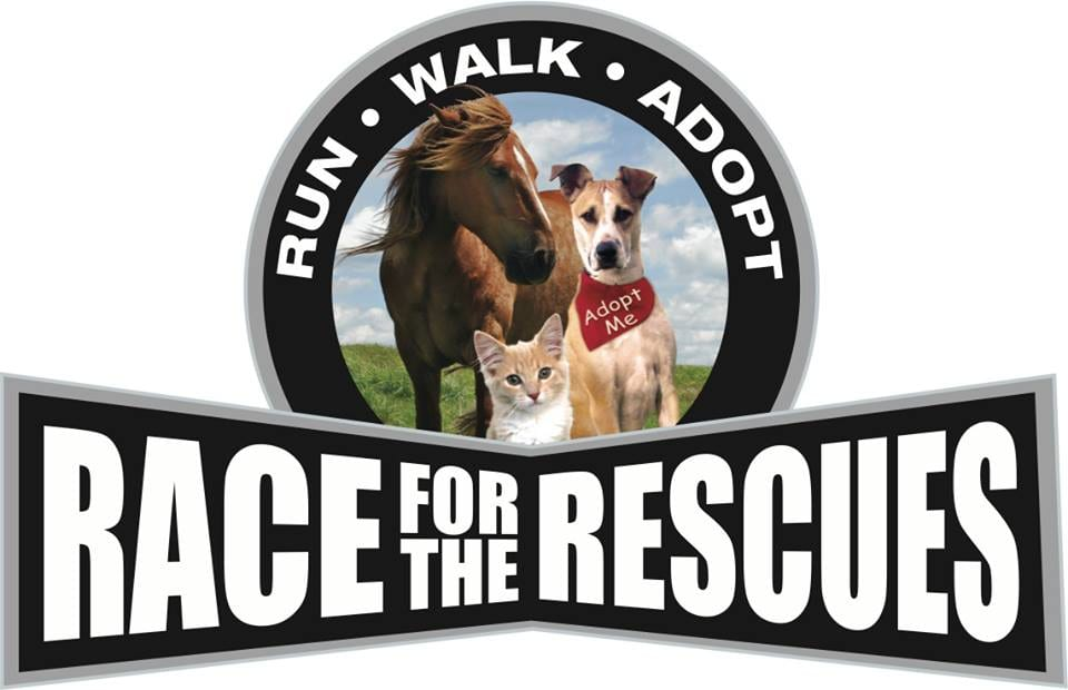 Race for the Rescues Irvine logo on RaceRaves