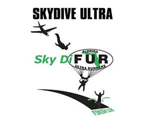 Florida Skydive Ultra Run logo on RaceRaves