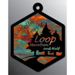 Shelby Forest Loop Marathon and Half logo on RaceRaves