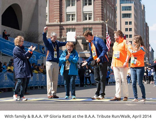 BAA Tribute Walk with BAA Vice President Gloria Ratti
