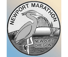 Newport Marathon & Half Marathon (OR) logo on RaceRaves