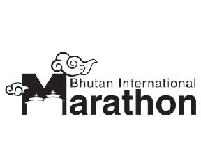 Bhutan International Marathon & Half Marathon logo on RaceRaves