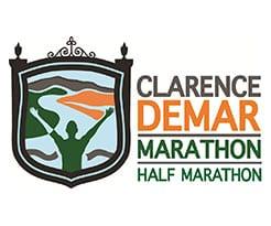 Clarence DeMar Marathon & Half Marathon logo on RaceRaves