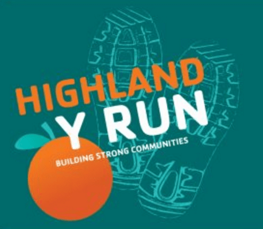 Highland Y Run logo on RaceRaves