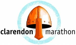 Clarendon Marathon logo on RaceRaves