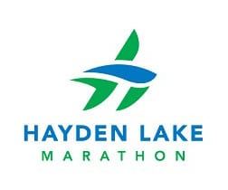 Hayden Lake Marathon logo on RaceRaves