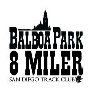 Balboa Park 8 Miler logo on RaceRaves