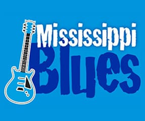 Mississippi Blues Marathon & Half Marathon logo on RaceRaves