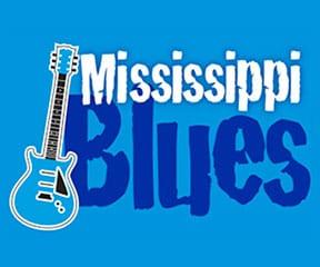 Mississippi Blues Marathon & Half Marathon logo on RaceRaves