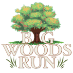 Big Woods Run logo on RaceRaves