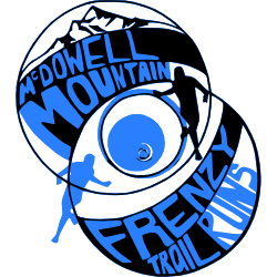 McDowell Mountain Frenzy Trail Runs logo on RaceRaves