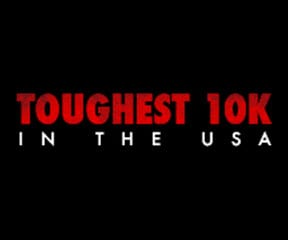 Toughest 10K in the USA logo on RaceRaves