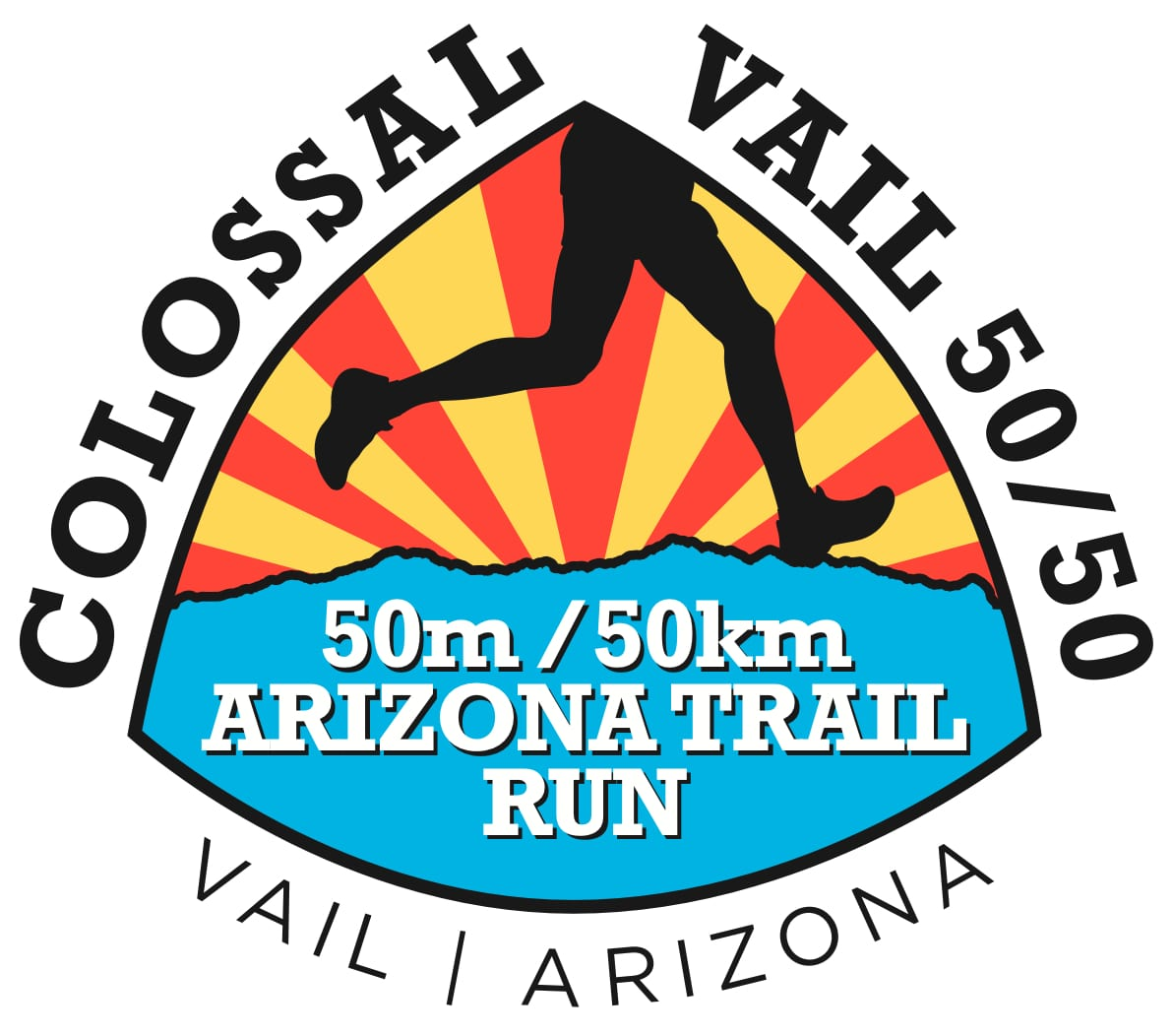Colossal Vail 50/50 logo on RaceRaves