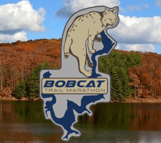 Bobcat Trail Marathon & Half Marathon logo on RaceRaves