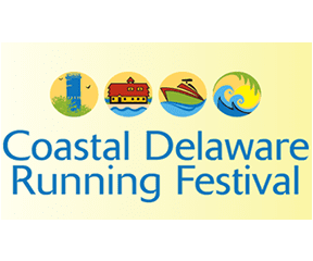 Coastal Delaware Running Festival logo on RaceRaves