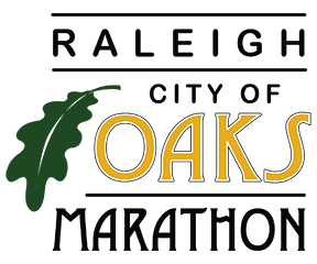 Raleigh City of Oaks Marathon & Half Marathon logo on RaceRaves
