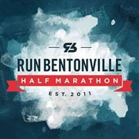 Run Bentonville Half Marathon logo on RaceRaves