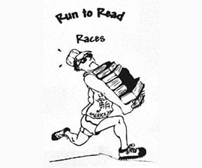 Run to Read Half Marathon logo on RaceRaves
