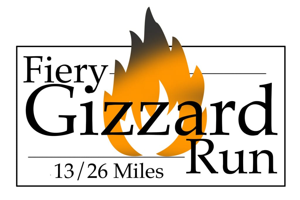 Fiery Gizzard Run logo on RaceRaves