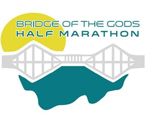 Bridge of the Gods Half Marathon logo on RaceRaves