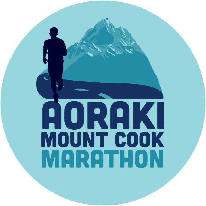 Aoraki Mount Cook Marathon logo on RaceRaves