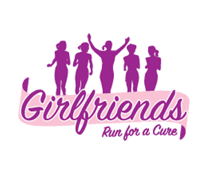 Girlfriends Run for a Cure Half Marathon, 10K & 6K logo on RaceRaves