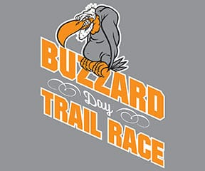 Buzzard Day Trail Races logo on RaceRaves