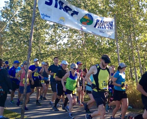 Yukon River Trail Marathon logo on RaceRaves