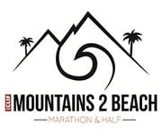 Mountains 2 Beach Marathon logo